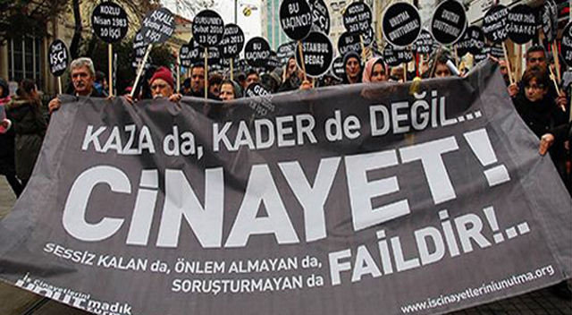 """""""AKP işçi sağlığı ve güvenliğini hiçe sayıyor"""""""