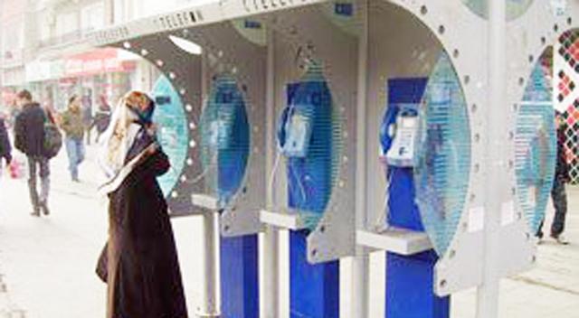 Ankesörlü telefonlar bayramda ücretsiz