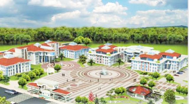 Yeni valilik binası inşaatı tüm hızıyla sürüyor