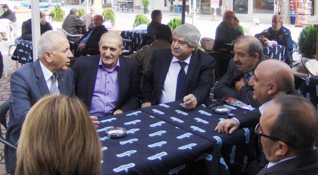 """Hamşioğlu, """"En büyük proje, halkı dinlemektir"""""""
