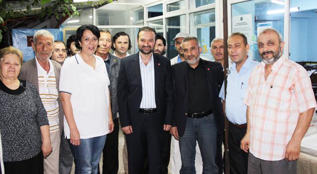 Kırım Türkleri Çelik'i sahurda ağırladı