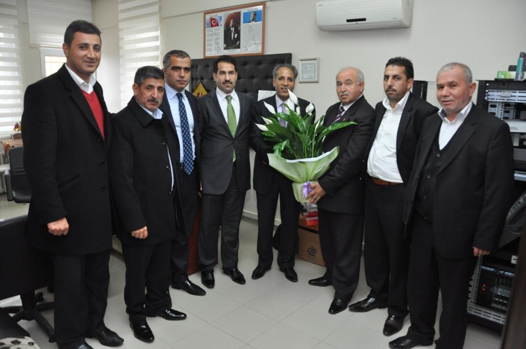Başkan yaman'dan öğretmenler günü ziyareti