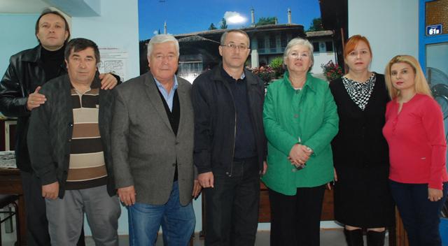 Tatarlar'da Başkan Gökdeniz