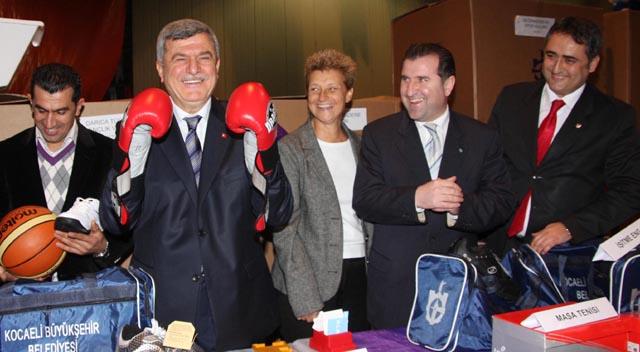 Başkan, Spor Projelerini Sky Türk'te anlatacak