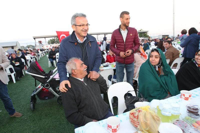Mollafenari'de  iftar yemeği düzenlendi