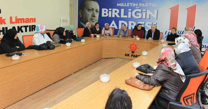 Akbaş'tan AK Kadınlara ziyaret
