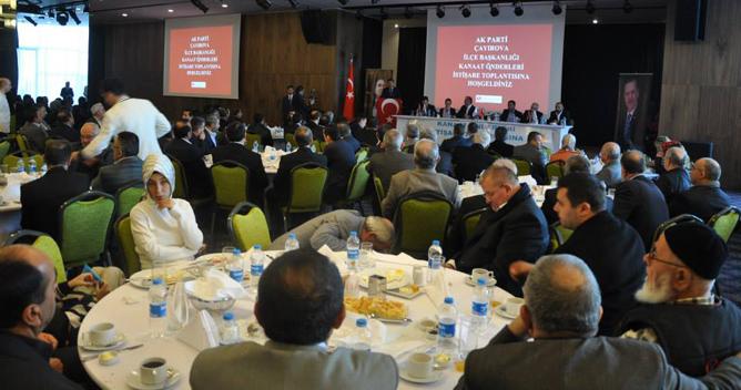 AKP Çayırova kanaat önderleri topladı