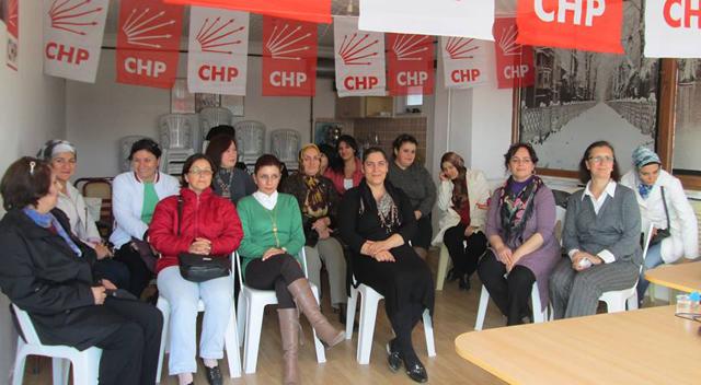 CHP'li kadınlardan şiddete karşı mücadele