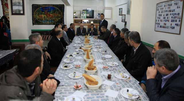 Başkan Akbaş'tan ÇADEM'e Ziyaret