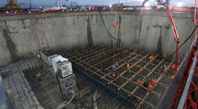 Körfez köprüsü inşaatı hızla sürüyor