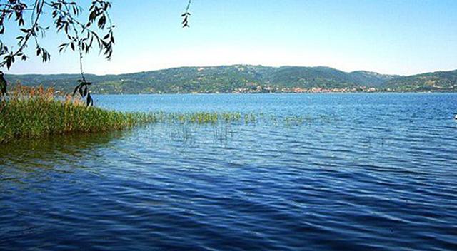 Sapanca Gölü'nün suyu son 10 yılın en düşük seviyesinde
