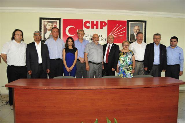 CHP'lilerden yoğun katılımlı bayramlaşma