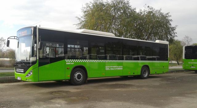 Darıca nihayet yeni otobüslerine kavuştu