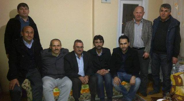 AKP'lilerden hasta ziyareti