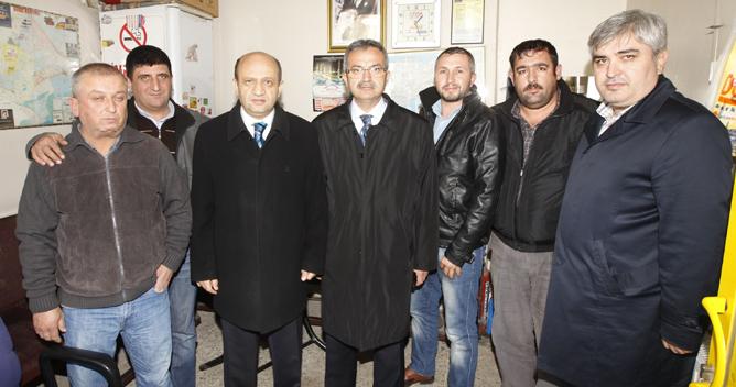 Milletvekili Işık Gebze'deydi