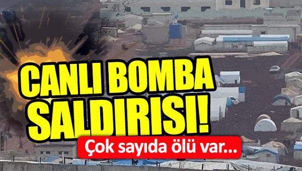 Türkiye-Suriye sınırında canlı bomba saldırısı