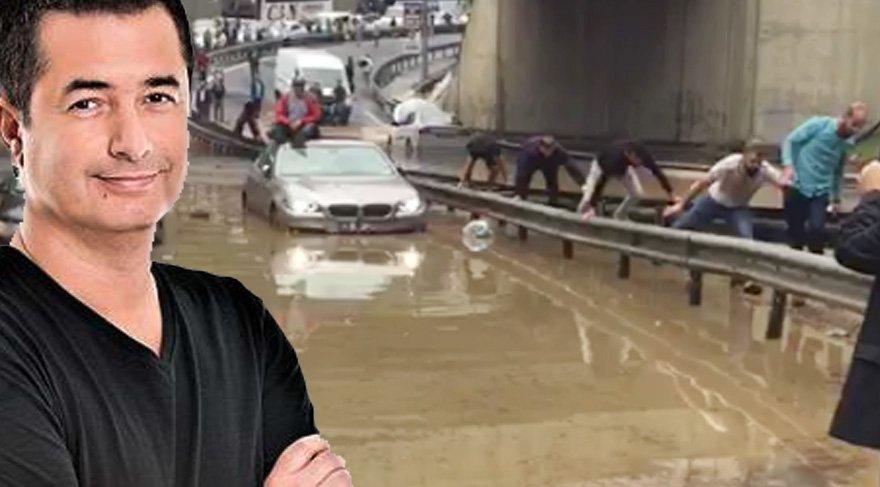 Acun Ilıcalı'dan yağmur ve Survivor paylaşımı