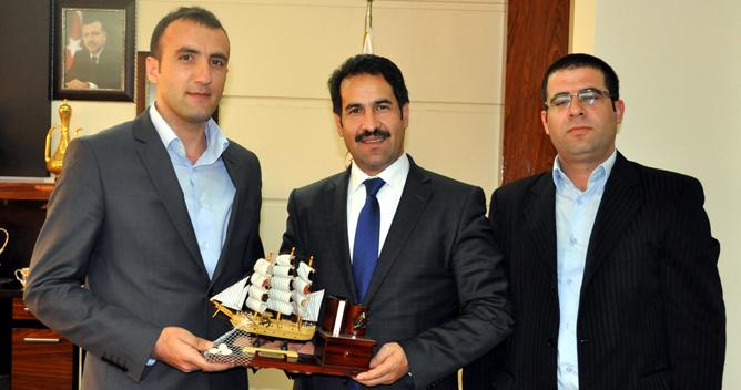 Balıkçılar Derneği Başkan Yaman'ı ziyaret
