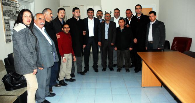 CHP'lilerden BEYAZAY'a ziyaret