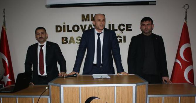 MHP'de gençlerin yeni başkan Hüseyin Türkel
