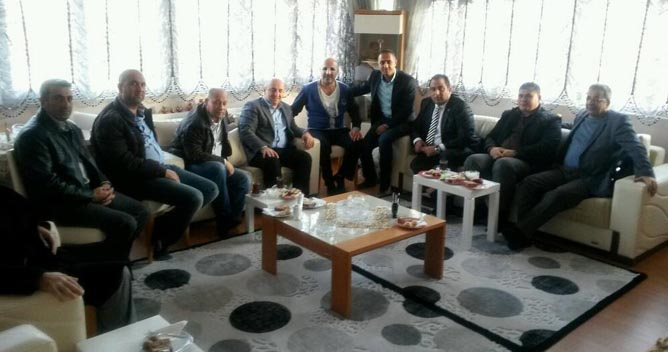 AKP Darıca Karslıların başkanına ziyaret