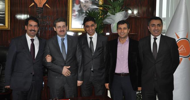 Civelek'ten Karabulut'a ziyaret
