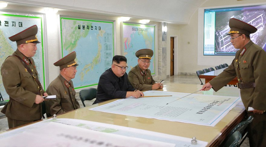 İşte Kuzey Kore'nin ABD'yi vurma planı
