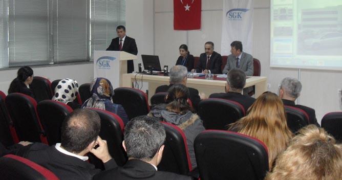 SGK'dan Mali Müşavirlere konferans