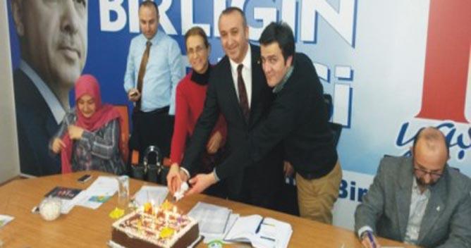 AKP Çayırova'da 2'nci yıl kutlaması