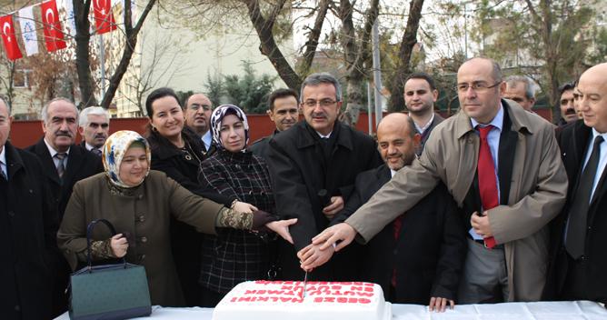 Arapçeşme'de doğalgaza pastalı final!