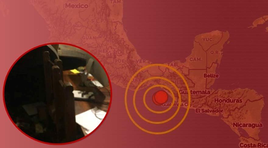 Çok şiddetli hissedildi! Meksika'da 8 büyüklüğünde deprem