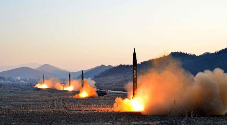 Kuzey Kore füze fırlattı! Halk sığınaklarda…   Son dakika haberleri