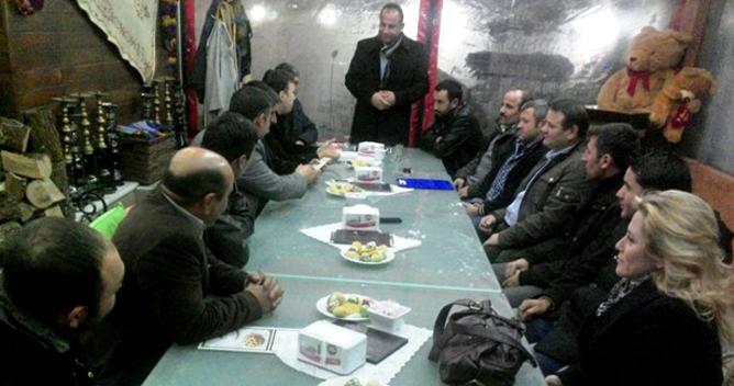 CHP'liler Çayırova Tokat köy dernekleri ile buluştu