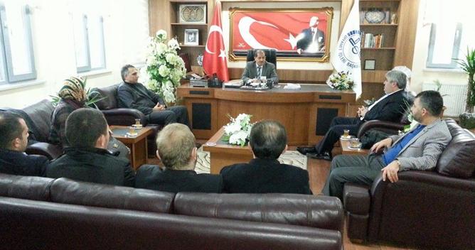 AKP'den Müftüye Ziyaret