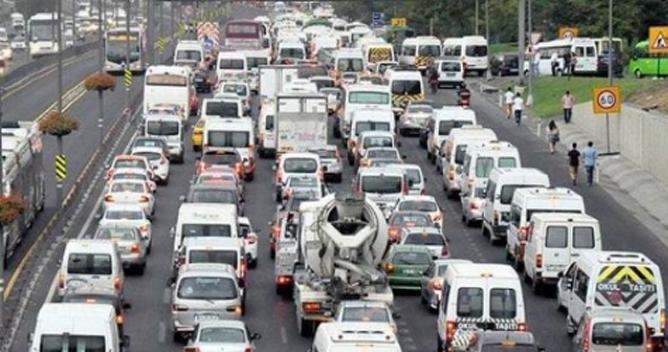 Kocaeli'de araç sayısı arttı