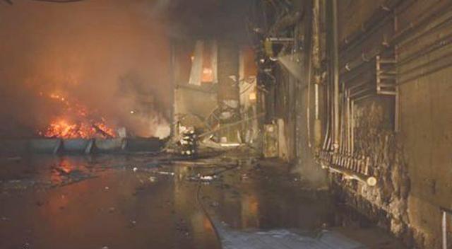 Sunta fabrikasında patlama 1 işçi öldü