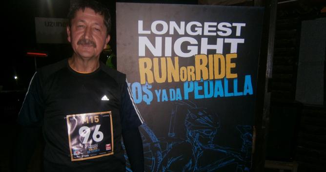 Rıdvan Şükür  LONGEST NIGHT RUN'a Katıldı