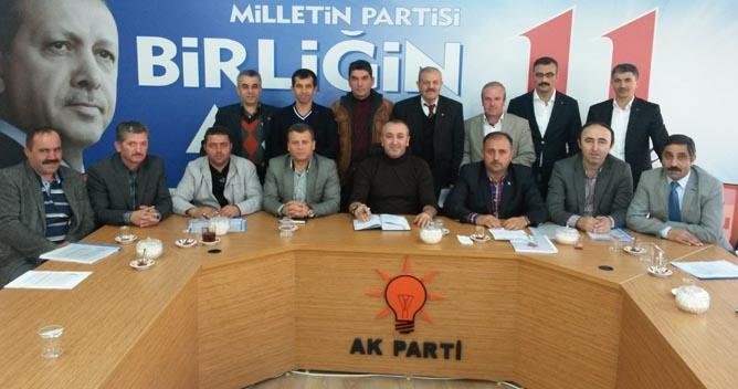 AKP Çayırova'da  mahalle başkanlarının atamaları yapıldı