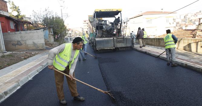 Piri Reis'e pırıl pırıl asfalt