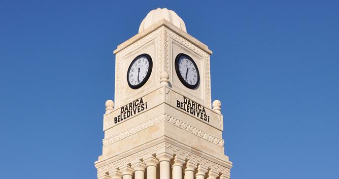 Darıca'nın Saat Kulesi tamam