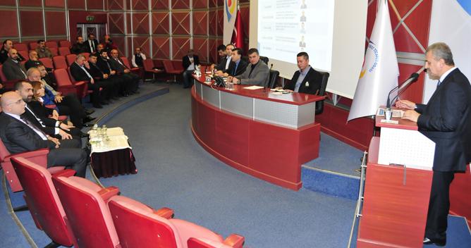 9 Meslek Komitesi üyeleri toplandı