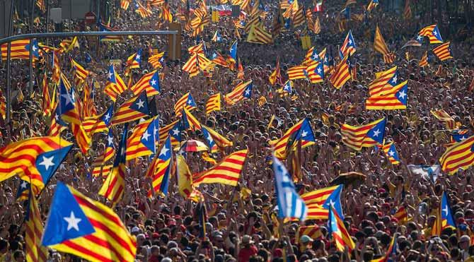 Katalanlar'dan çok sert Madrid çıkışı