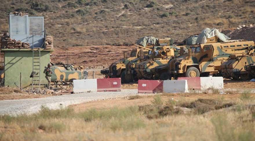 """TSK Afrin sınırındaki """"Simon Kalesi'ne"""" yerleşti"""
