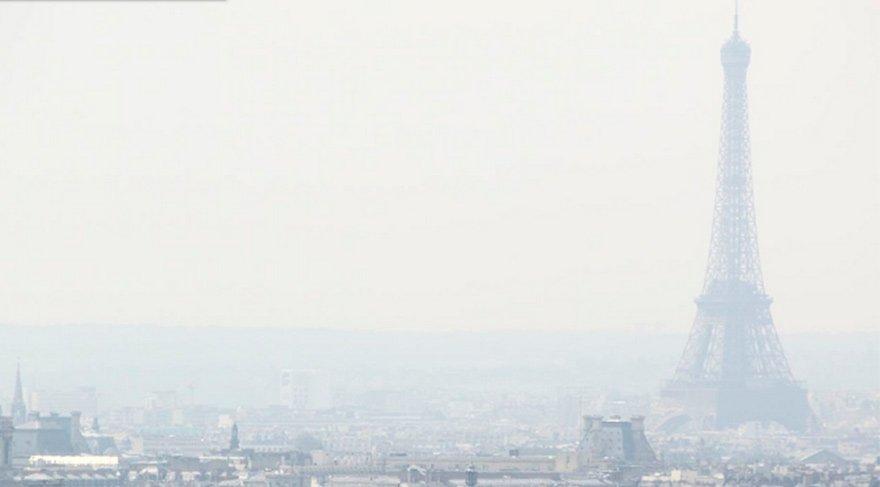 Paris'te sis alarmı