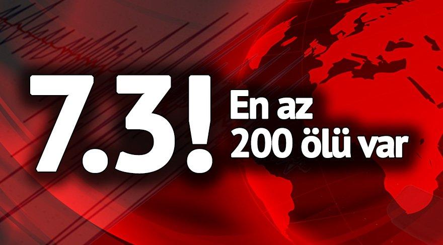 Son dakika! Haberler vahim: Irak'taki depremde yüzlerce ölü binden fazla yaralı var!