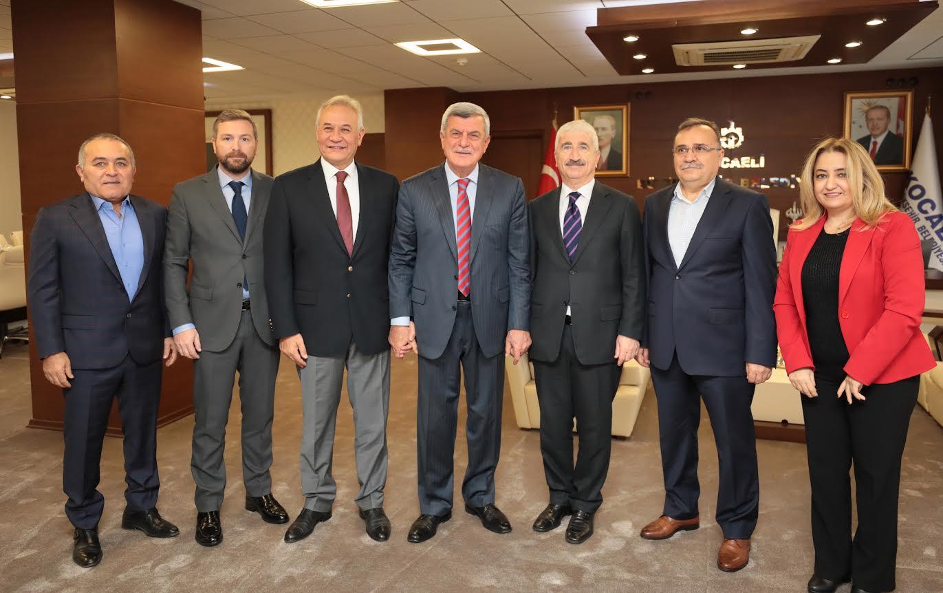 GEBKİM, Karaosmanoğlu ile görüştü