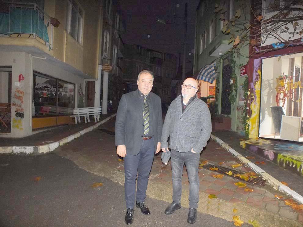 Türkiye'nin en büyük film platosu  Darıca'da