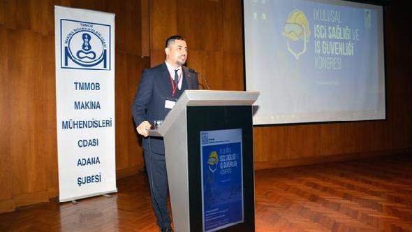 IX. Ulusal İşci Sağlığı ve İş Güvenliği kongresi tamamlandı
