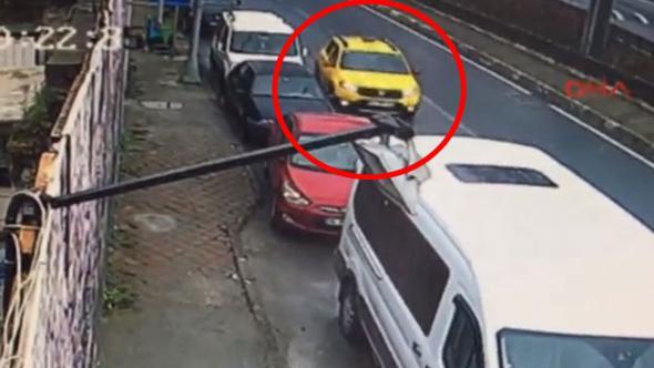 İstanbul'da akılalmaz kaza... Yok böyle takla!