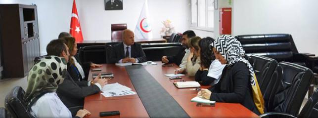 Farabi'de yönetimden ilk toplantı
